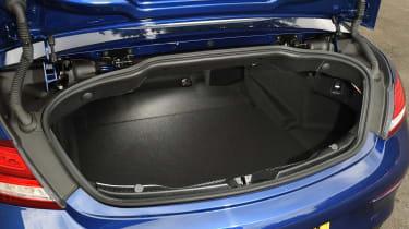 Range Rover Evoque Convertible vs Mercedes C-Class Cabriolet - C-Class boot