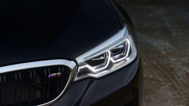 BMW M5 headlights