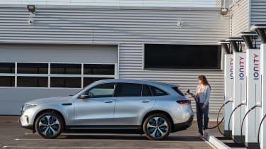 Mercedes EQC - side charging