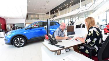 Vauxhall Grandland X - paperwork