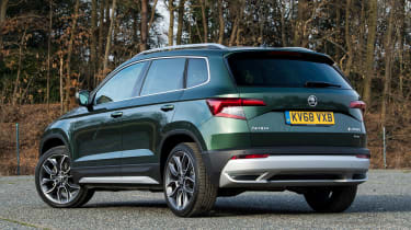 Skoda Karoq Scout - rear static