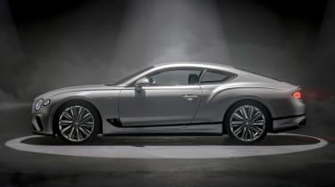 Bentley Continental GT Speed - side static