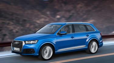 Audi Q7 2015 - front