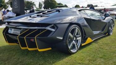 Salon Prive 2016 Lamborghini Centenario rear