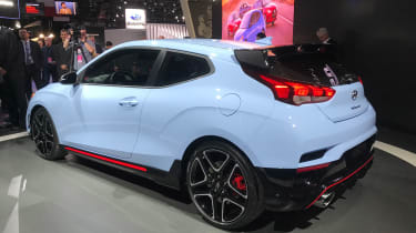 New Hyundai Veloster N - Detroit rear