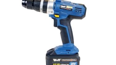 Wolf 20v Professional Combi Drill Kit