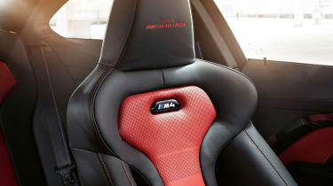 BMW M4 M Heritage Edition - red seat
