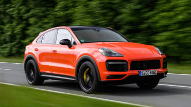 Porsche Cayenne Turbo Coupe - front tracking