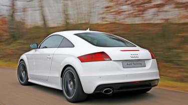 Audi TT S Lightweight rear