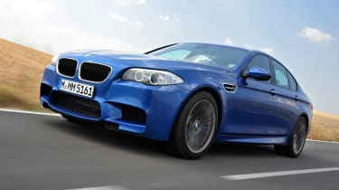 BMW M5 front tracking