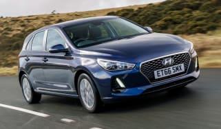 New Hyundai i30 - front