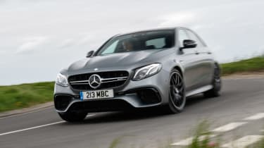 Mercedes-AMG E 63 S - front cornering
