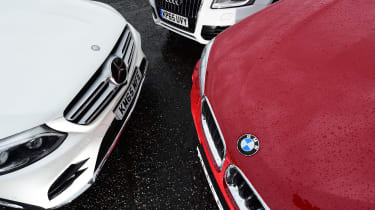 Mercedes GLC vs BMW X3 vs Audi Q5 - engines