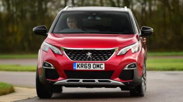 Peugeot 3008 - front cornering