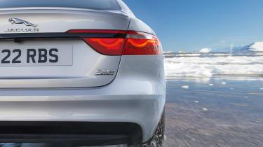 Jaguar XF AWD - rear detail
