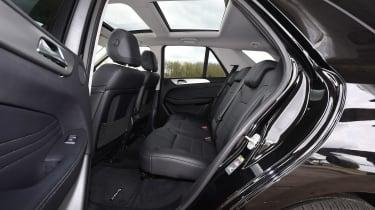 Mercedes GLE 350d - rear seats