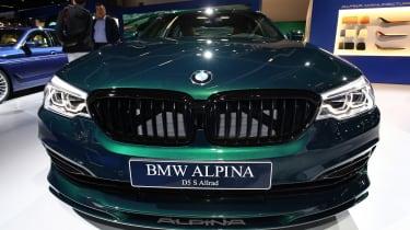 Frankfurt - BMW Alpina D5 S - grille