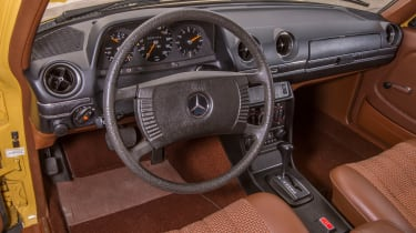 70 years of Mercedes E-Class - W123 interior