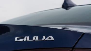 Alfa Romeo Giulia - Giulia badge