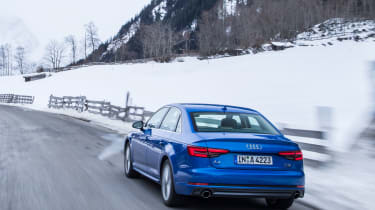 Audi A4 quattro rear