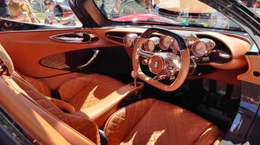 De Tomaso P72 Goodwood interior