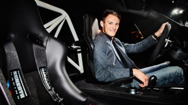 BMW M4 DTM Champion Edition - Marco Wittmann in car