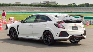 New Honda Civic Type R - rear