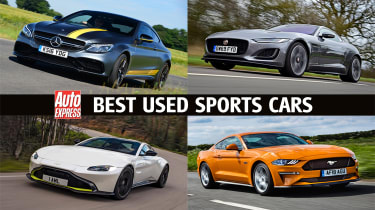 Best used sports cars - header