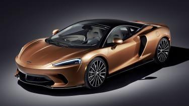 McLaren GT - front studio