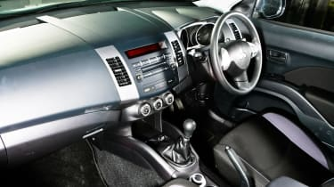 Mitsubishi have incoporated a ECO mode, which decreases torque and increases fuel economy.