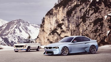 BMW 2002 Hommage - twin