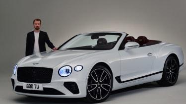 Bentley Continental GTC - studio Alex Ingram