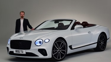 Bentley Continental GTC - studio Alex Ingram