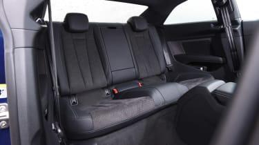 Audi A5 - rear seats