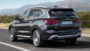 BMW X3 - rear tracking