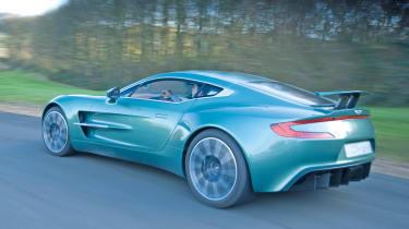 Aston Martin One-77 rear cornering