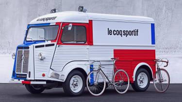 Citroen H van Le Coq Sportif - front
