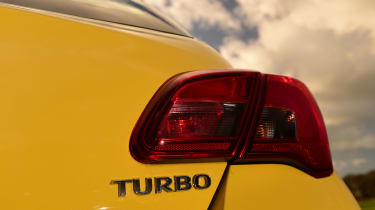 Vauxhall Corsa - rear light detail