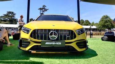 Mercedes-AMG A45 Goodwood FoS 2019 head on