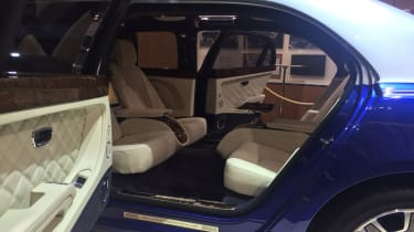 Bentley Mulsanne Grand Limousine by Mulliner rear seats