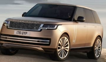 Range Rover leak - front