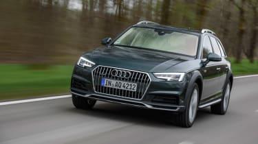 Audi A4 Allroad front far