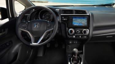 Honda Jazz facelift - dash