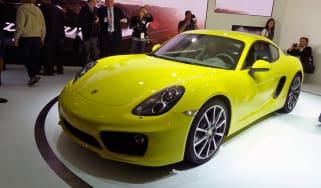 Porsche Cayman S front