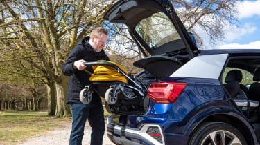 Audi Q2 35 TFSI long-termer - buggy