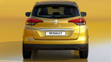 Renault Scenic - full rear studio