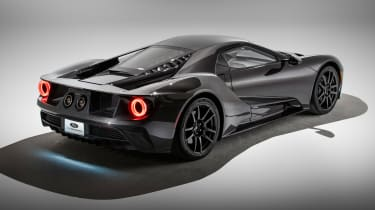 2020 Ford GT - rear 3/4 static