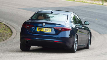Alfa Romeo Giulia long term test - first report rear action