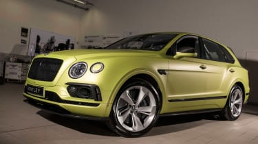 Bentley Bentayga Pikes Peak - front studio