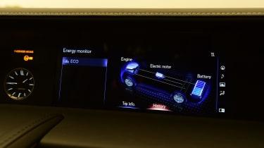 Lexus LC 500h - infotainment